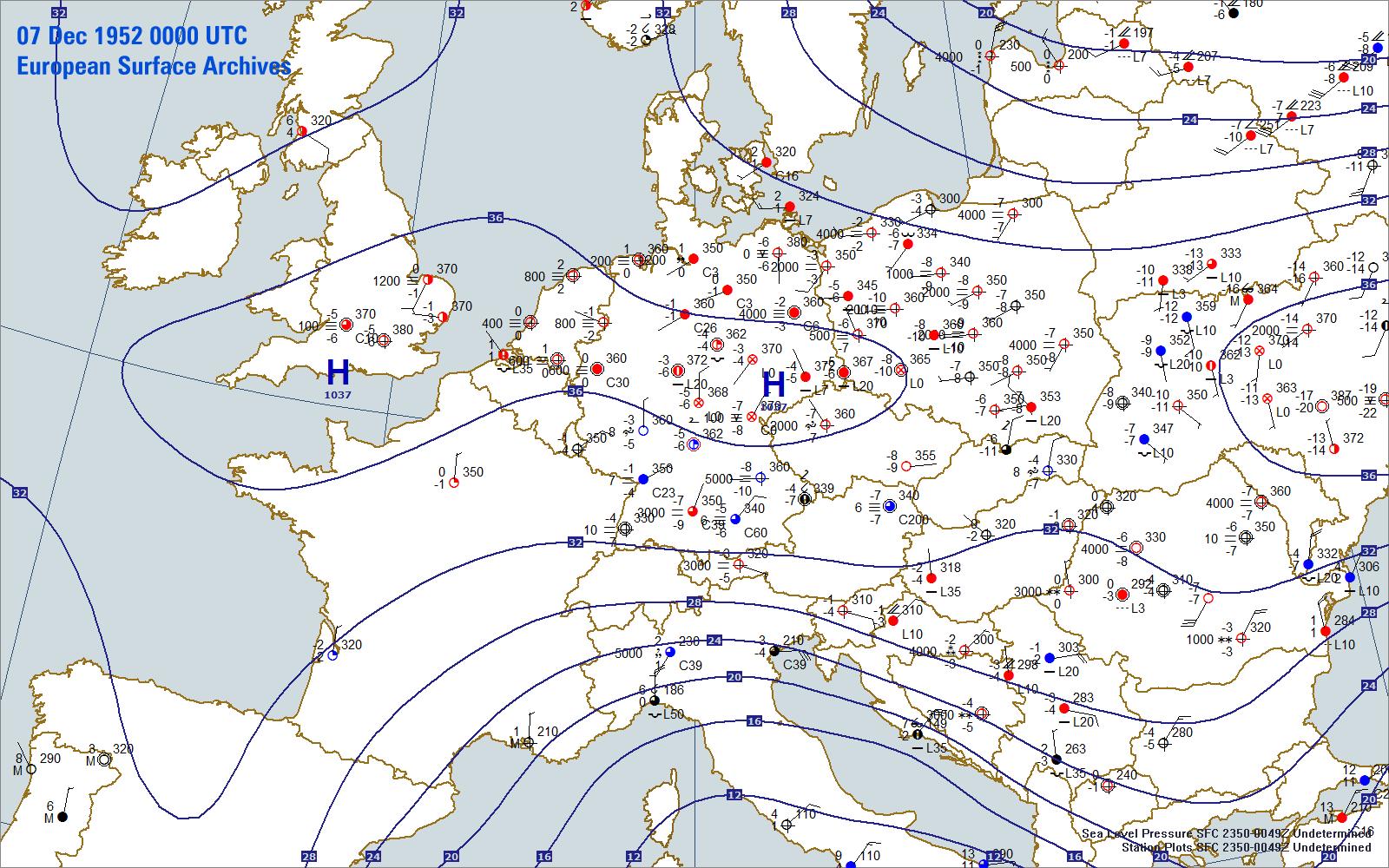 Weather Forecast Europe Map