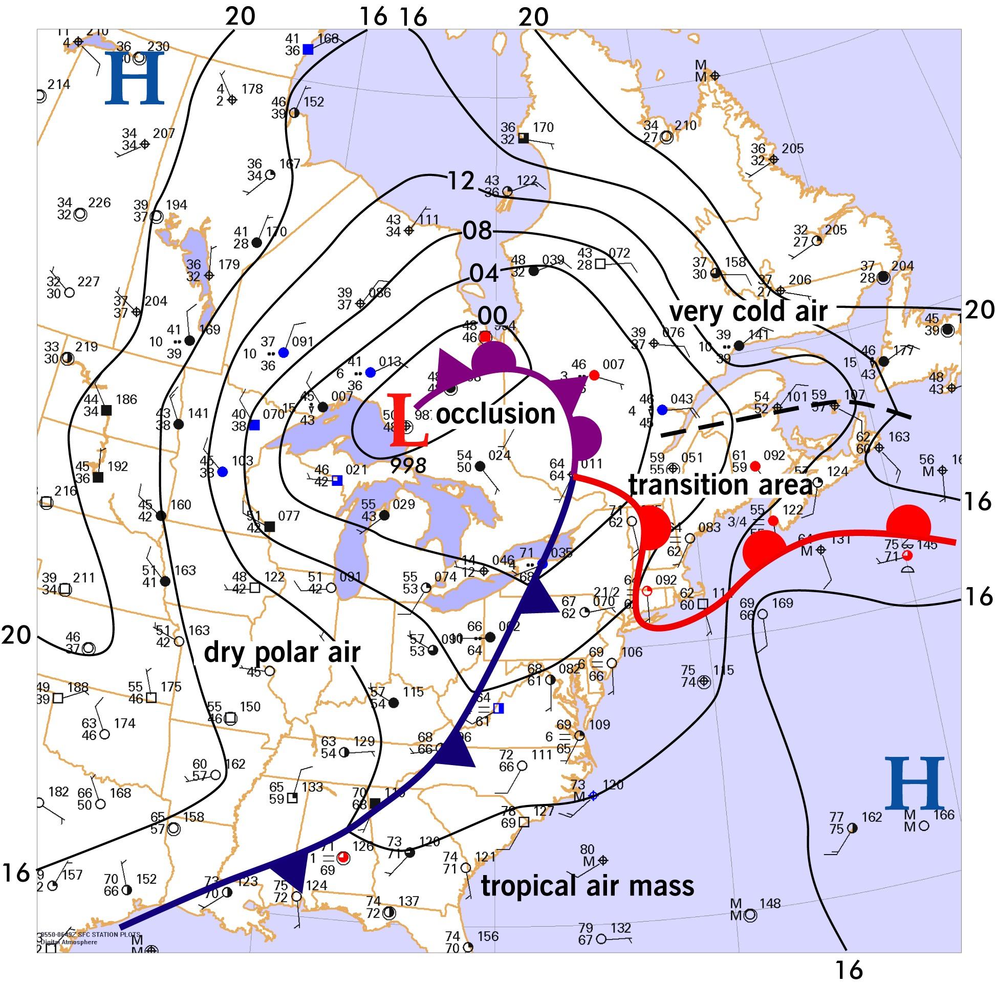 Forecast Center Novemberdecember 2006 Weather Graphics