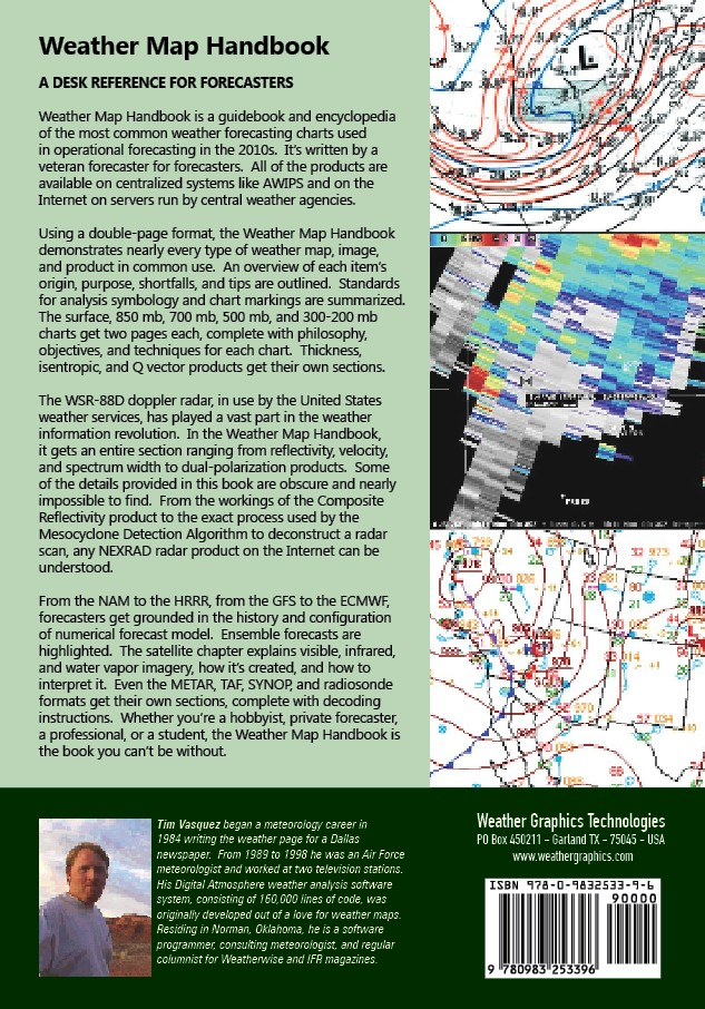 Texas Weather Map Forecast.Weather Map Handbook Weather Graphics